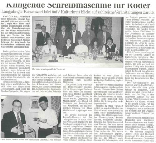 Artikel aus der GNZ 28.3.2007